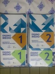 Livros do 1 Ano do Ensino Medio - primeiro semestre