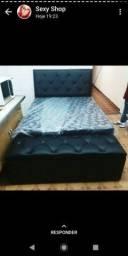 Cama box cama.molas