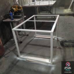 Fabricação de Bases de Ferro Para mesa