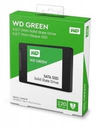 Ssd wd Green 120 gb