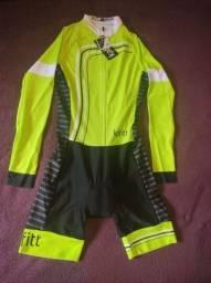 Macaquinho de Ciclismo Tam M - Novo