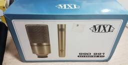 Conjunto microfones MXL 990 e 991