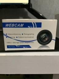 Webcam 1080p na caixa