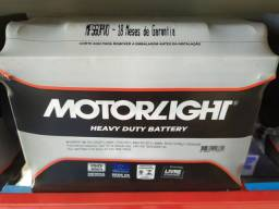 Bateria automotiva 60 amperes motorlight