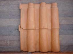 Telhas Portuguesa Modelo antigo grande e pequena vermelha natural