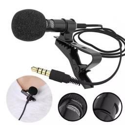 COD:0158 Microfone Lapela Celular Smartphone Profissional Stereo