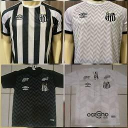 Camisas do Santos