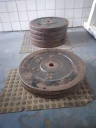 ANILHAS DE 20 e 25 Kg.....9,00 O quilo