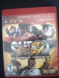 SUPER STREET FIGHTER 4( JOGO PS3)
