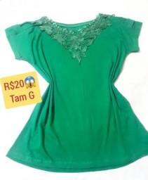Promoção de blusas tamanho G