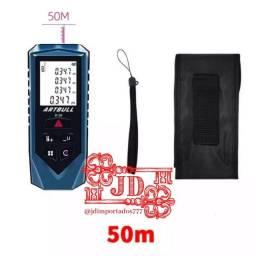 Trena a laser com medidor digital - Facilidade, praticidade e precisão 50 metros