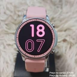 Relógio feminino digital inteligente smartwatch V23 Lançamento