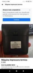 Impressora termica novinha