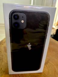 iPhone 11 64Gb - preto - lacrado. 12 meses de garantia Apple Brasil
