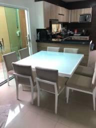 Linda Mesa com 8 Cadeiras