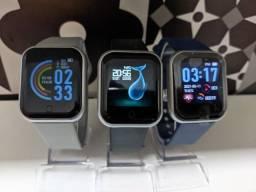 Smartwatch Y68/D20 Recebe mensagens, monitoramento cardiaco...