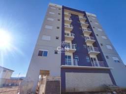 Apartamento com 66,11 m² de área total 02 dormitórios sacada churrasqueira e box de garage