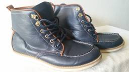 Sapato Tommy hilfiger azul marinho numero 34