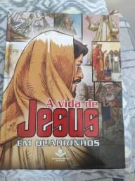 Livro Quadrinhos história de Jesus