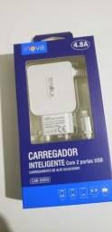 Carregador-Iphone-2 Entrada USB
