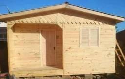 Casa 5,40x5,40 pinus macho e femea completa.