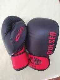Luva profissional de boxe