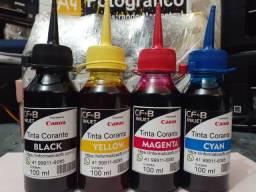 Kit 4 cores Corante Canon