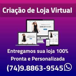 Título do anúncio: Criação de Lojas Virtuais e Websites - Valor Promocional