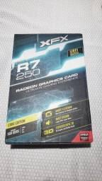 Placa de vídeo R7 250 RADEON 1GB DDR5