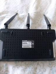 Roteador 3 antenas D-Link