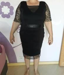 Vestido de festa G3 preto