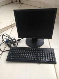Monitor 14 LG + teclado usb