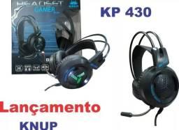 Fone De Ouvido Headset Gamer Knup Kp-430 7.1 Pronta Entrega