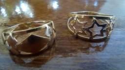 6d3ece61ef3 Lote - Anéis de ouro e prata