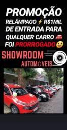 Impressionante! R$1ML DE ENTRADA(DOBLO 2017 7LUGARES COMPLETA)SHOWROOM AUTOMÓVEIS!!