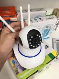 câmera ip 5 antenas