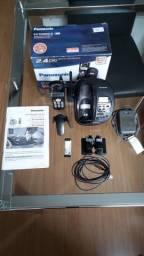 Telefone Sem Fio com Secretária Eletrônica Digital Panasonic KX-TG2835LB ? Usado