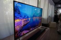 Smart Tv TCL 4K led 65 pol wifi Netflix Youtube novíssima em P.Alegre-rs