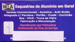 Esquadrias de alumínio em geral
