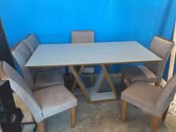 Vendo ou troco mesa 6 cadeiras