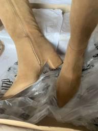 Botas de couro UZA SHOES