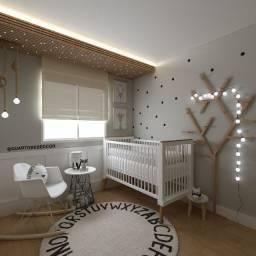 Projeto de interiores - Quarto infantil