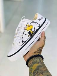 Tênis Snoopy