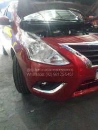 Kit farol de Milha Nissan Versa