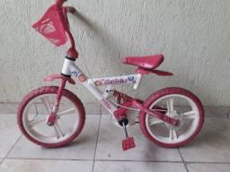 Bicicleta infantil bandeirante menina
