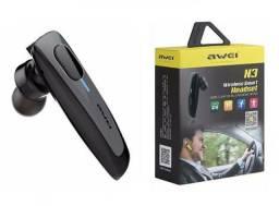 Fone Wireless awei R$120,00 ENTREGO  . NOVO