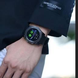 Relógio Masculino Inteligente Smartwatch Faz Ligações