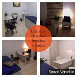 Salas para locação para profissionais de saúde e terapias holísticas
