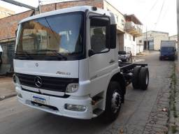 Mercedes Benz Atego 1718 ano 2012 toco chassi