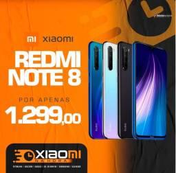 Xiaomi Note 8 Lacrado Todos modelos